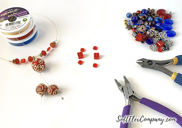 Amazon Princess Necklace and Earrings by Sara Oehler
