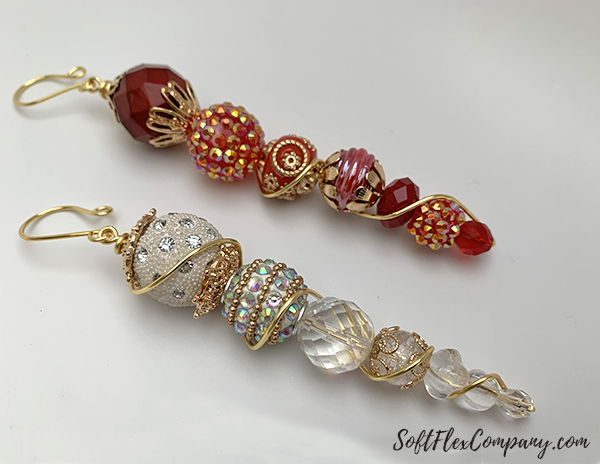 Beaded Icicle Craft Wire Ornaments by Sara Oehler