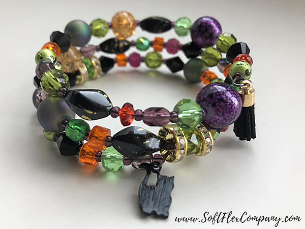 Black Magic Bracelet by Sara Oehler