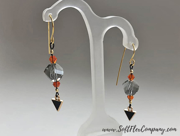 Black Magic Earrings by Sara Oehler