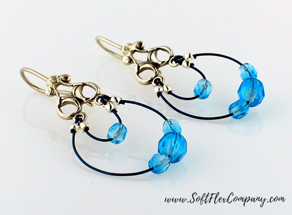 Double Strand Earrings by Sara Oehler