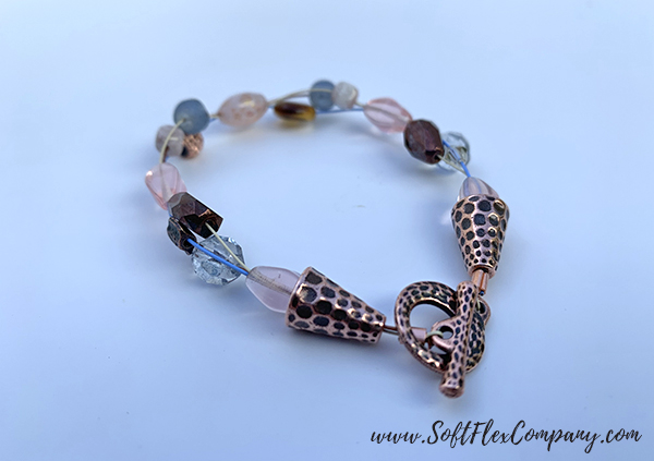 Golden Gate Fall Bracelet by Sara Oehler