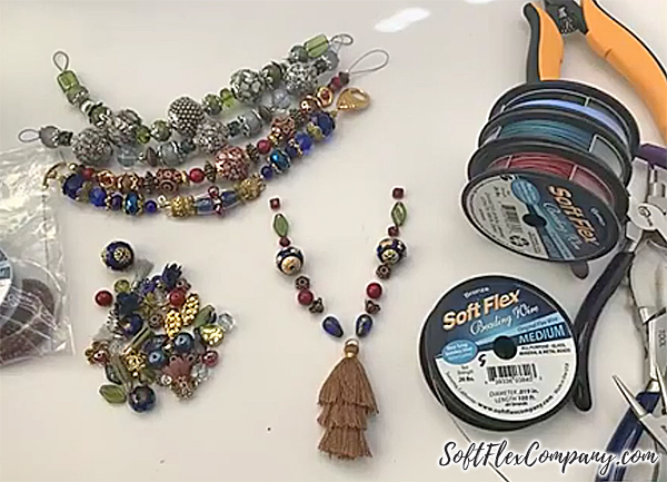 Great Bead Extravaganza Necklace by Sara Oehler