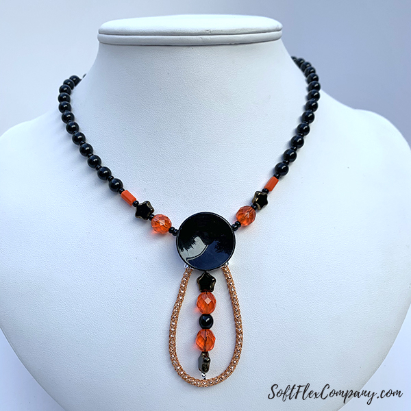 Great Pumpkin Necklace by Sara Oehler