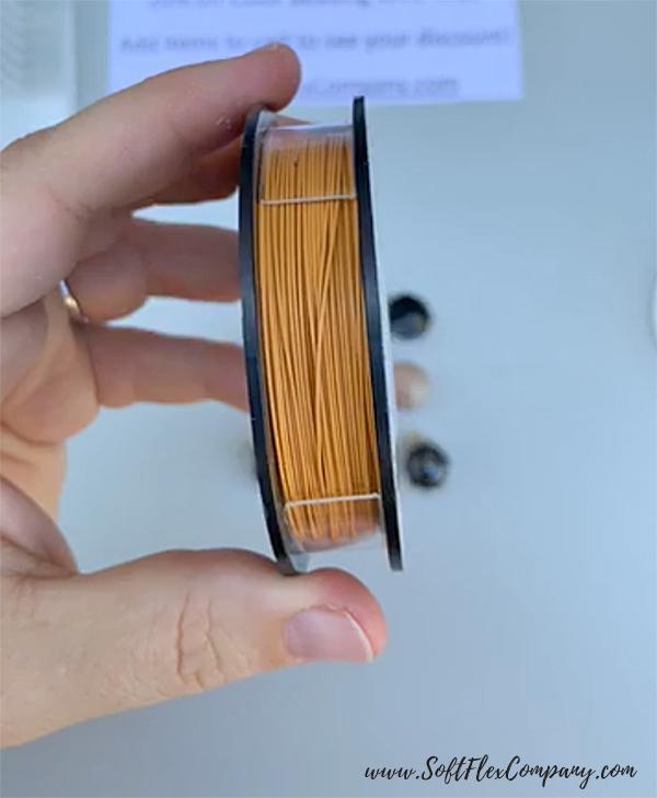 Soft Flex Citrine Color Beading Wire
