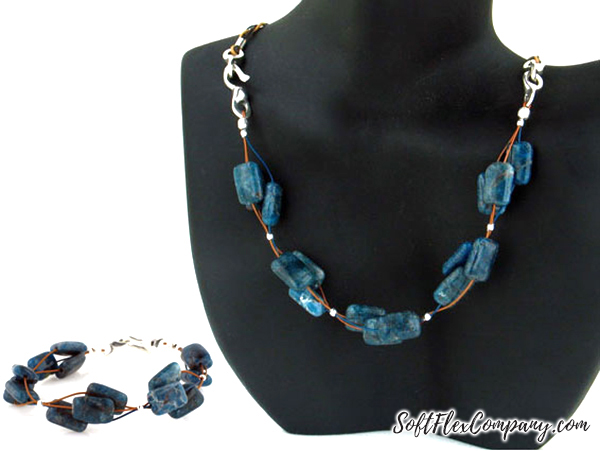 Interchangeable Choker and Bracelet by Sara Oehler (color option 2)