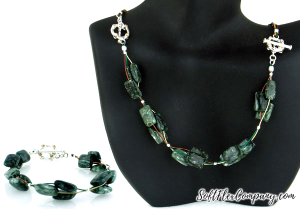 Interchangeable Choker and Bracelet by Sara Oehler (color option 3)