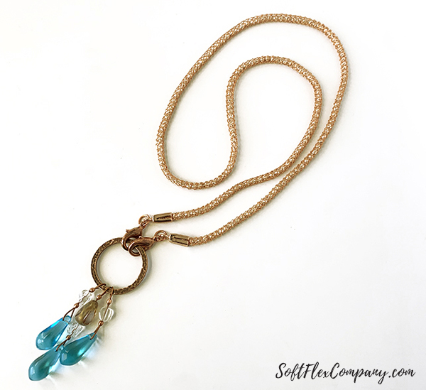 Easy Face Mask Lanyard Necklace by Sara Oehler