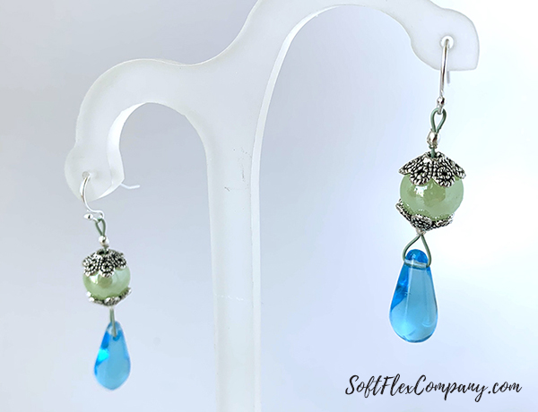Serenity Shore Earrings by Sara Oehler