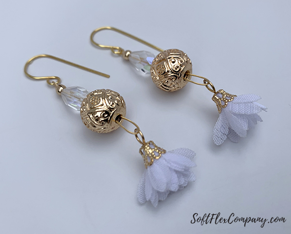 Snow Queen Earrings by Sara Oehler