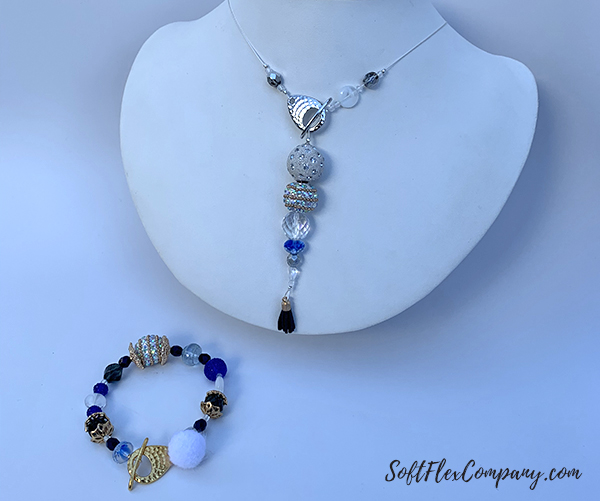 TierraCast Necklace and Bracelet by Sara Oehler