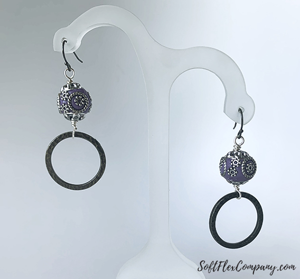 TierraCast Ring Earrings by Sara Oehler