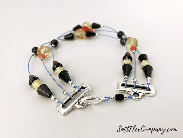 Whimsical Beadtastical Bracelet by Sara Oehler