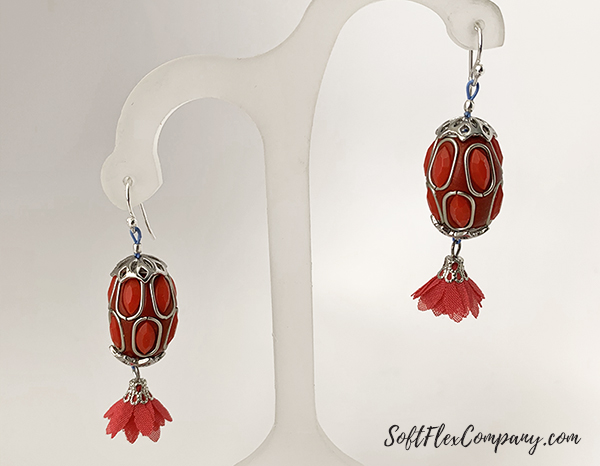 Whimsical Beadtastical Earrings by Sara Oehler