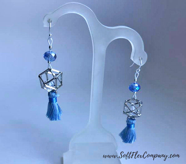 Winter Wonderland Earrings by Sara Oehler