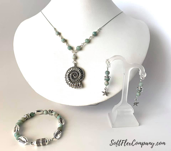 Wire Wrap Bead Connectors with Craft Wire by Sara Oehler