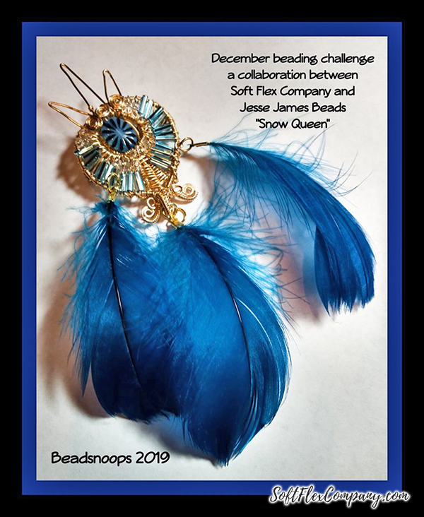 Snow Queen Diamontrigue Jewelry: Finished Jewelry Designs From Our Snow Queen Design Kit