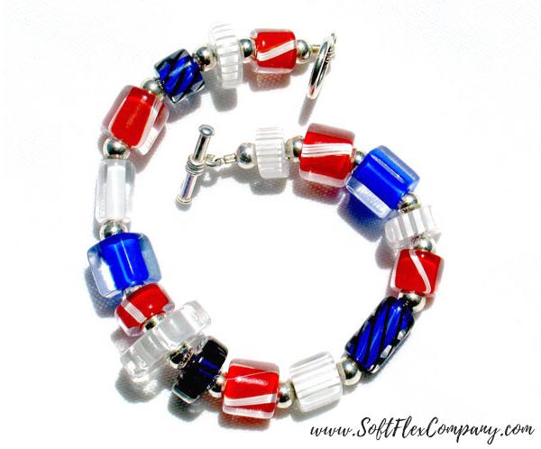 American Pride Bracelet by Shelley Carlson