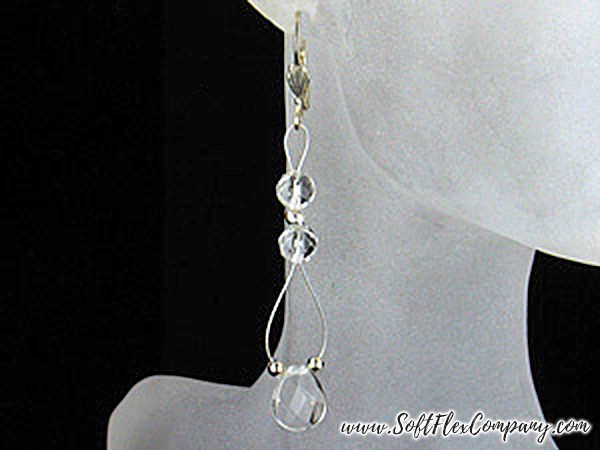 Crystal Drop Earrings by Shelley Richey