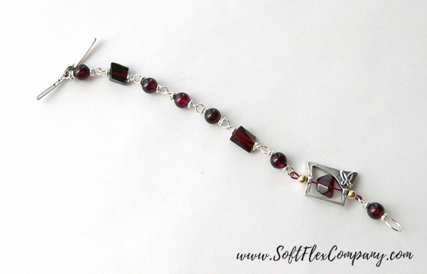 Garnet And Glitz Necklace 7