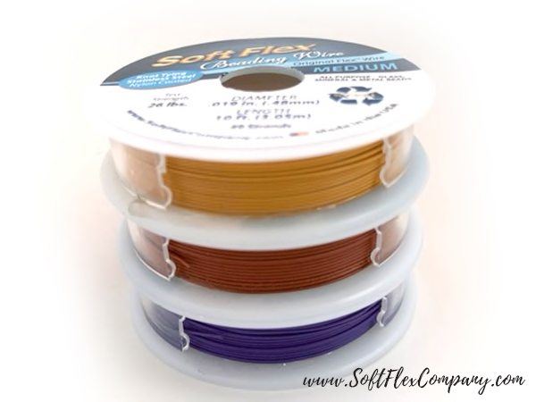 Soft Flex Autumn Spice Trios Beading Wire Pack