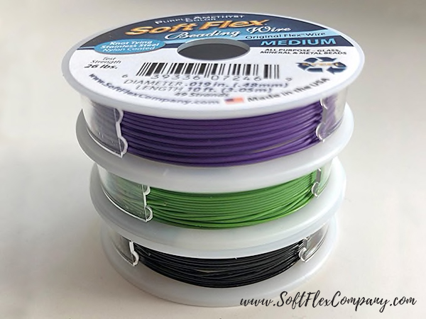 Soft Flex Black Magic Trios Beading Wire Pack