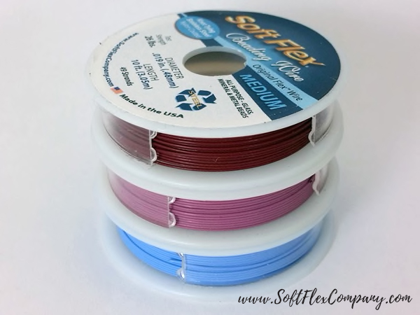 Soft Flex Bloom Trios Beading Wire Pack