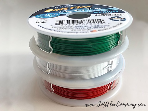 Soft Flex Holly Jollys Trios Beading Wire Pack