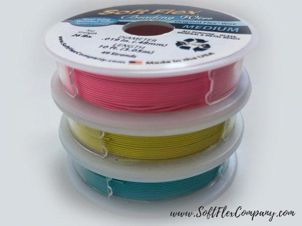 Soft Flex Neon Nights Trios Beading Wire Pack