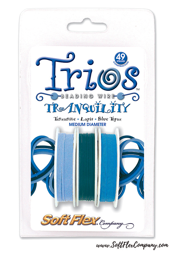 Soft Flex Trios Tranquility Beading Wire Pack