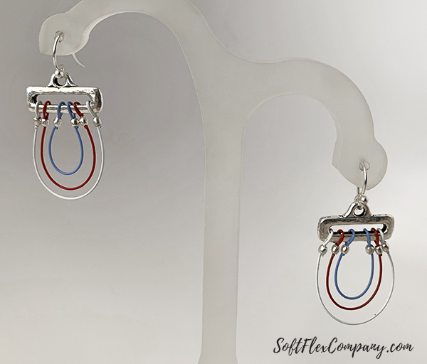 Soft Flex Whimsical Beadtastical Earrings by Sara Oehler