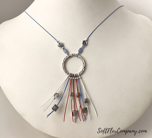 Soft Flex Whimsical Beadtastical Necklace by Sara Oehler