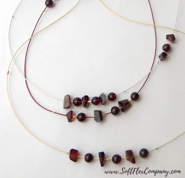 Garnet And Glitz Necklace 8