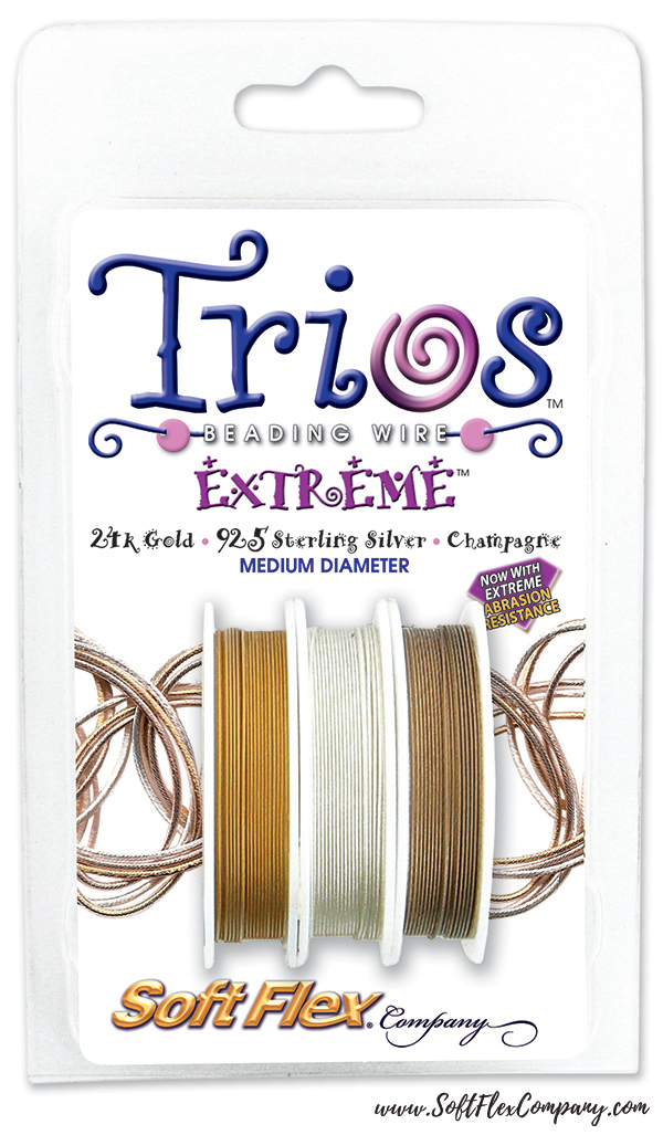 Soft Flex Trios Extreme .019 Beading Wire Pack