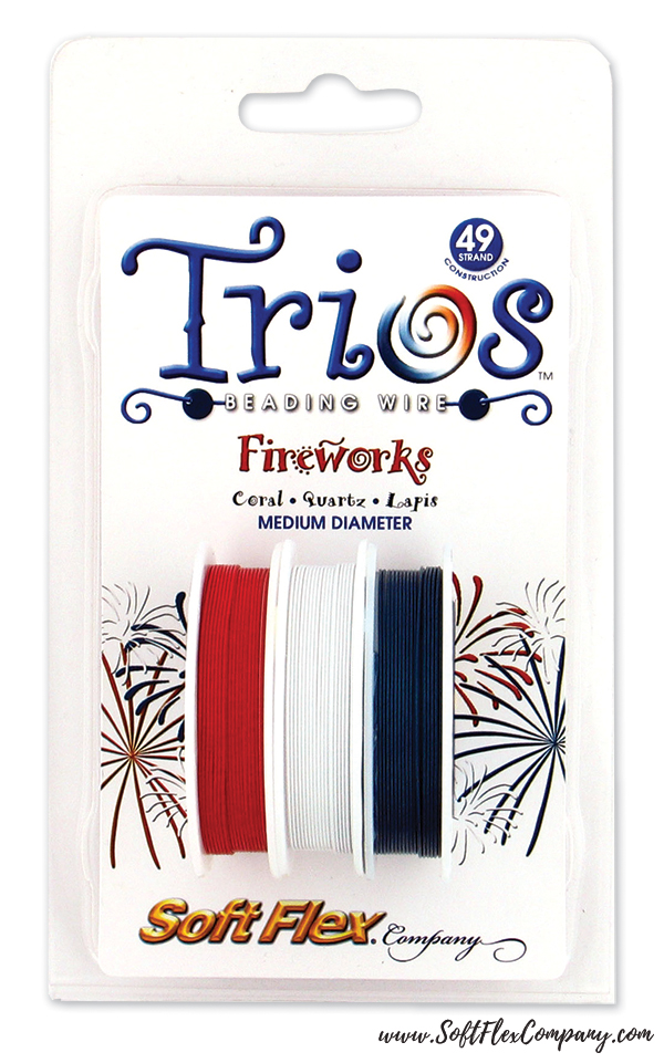 Trios Fireworks Beading Wire Pack