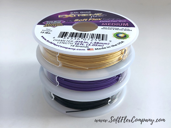 Trios Purple Rain Beading Wire Pack