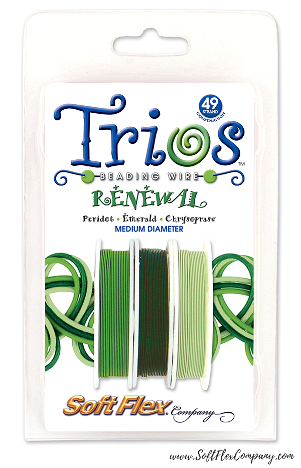 Soft Flex Trios Renewal Beading Wire Pack