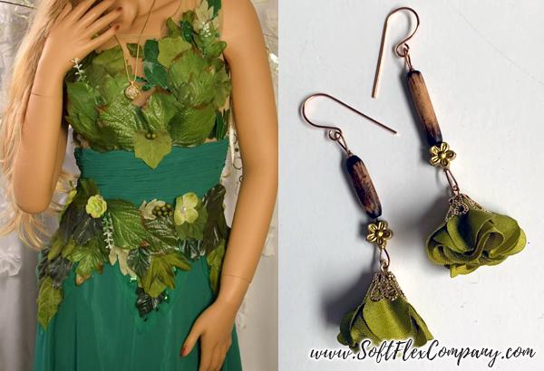 Woodland Fairy Costume & Woodland Fairy Earrings