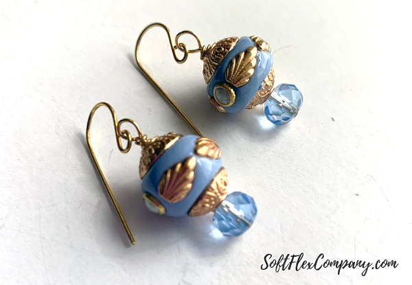 Boho Bead Earrings by Kristen Fagan